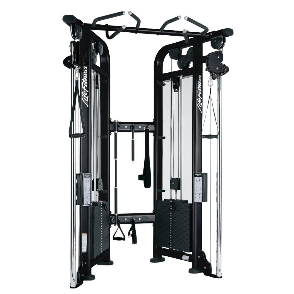 life fitness cable motion dual adjustable pulley signature series
